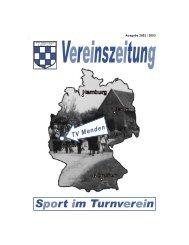 Zeitung 2002_2003 - TV Menden 1907 eV