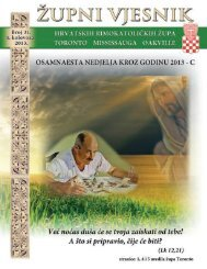 4. kolovoza 2013 - Župa Naše Gospe Kraljice Hrvata