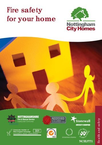 Fire safety in the home - Sept 2010.indd - Nottingham City Homes