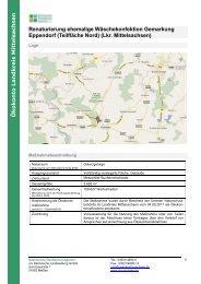 Planungen zur Integrierten ländlichen Entwicklung - SLS