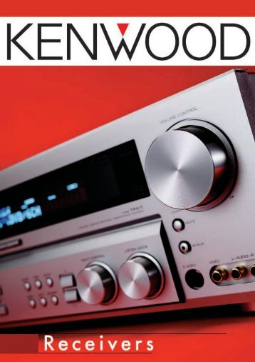 Receivers - Kenwood