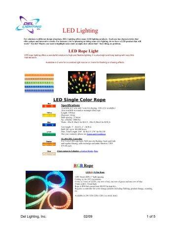 LED Lighting - Del Lighting