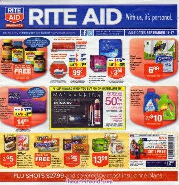 i heart rite aid: 09/11 - 09/17 ad