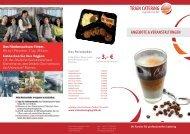 angebote & veranstaltungen - Train Catering Logistic GmbH