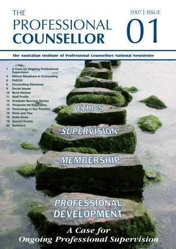 PROFESSIONAL COUNSELLOR - Mental Health Academy
