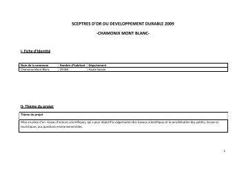 Fiche Chamonix Mont Blanc - Association National des Maires des ...