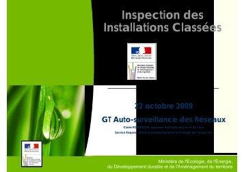 Inspection des Installations Classées - Agence de l'eau Artois Picardie