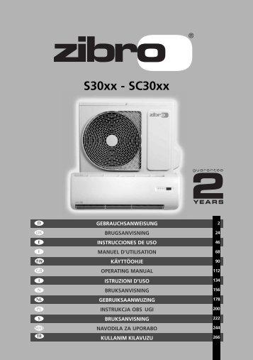 Zibro SC3050 wandsplit airco - Wehkamp.nl