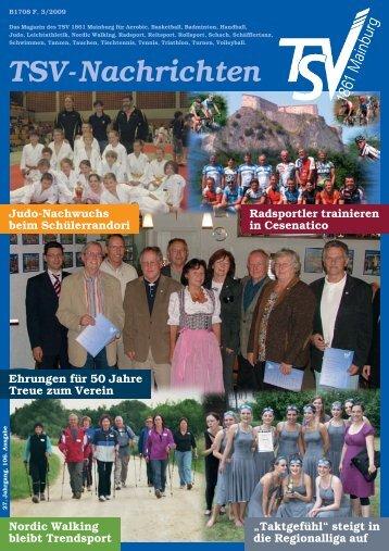 TSV-Nachrichten 3/2009