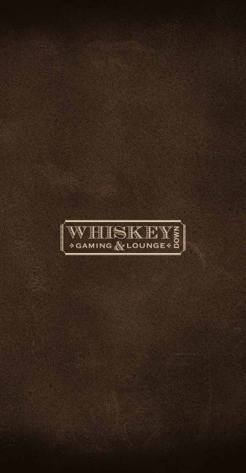 12248-02 Whiskey Down Menu Temp v03.indd 1 8/19 ... - MGM Grand