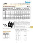 62000-69000 SerieS POWer DiSTriBUTiOn BLOCKS - Nedco - Page 3