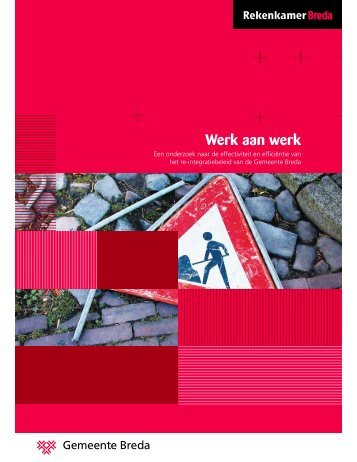 Werk aan werk - Gemeente Breda