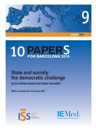 State and society - European Union Institute for Security Studies ...