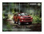 4RUNNER - Alpine Armoring Inc.