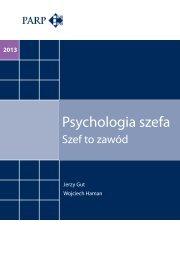 Psychologia szefa - Polska Agencja Rozwoju Przedsiębiorczości
