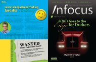 for Truckers for Truckers - Acuity