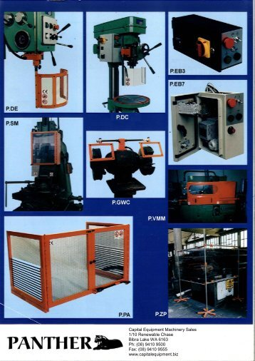 Brochure - Capital Equipment Machinery Sales