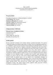 Zápis z jednání disciplinární komise 23.5.2012