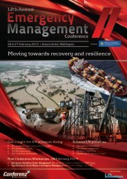 Moving towards recovery and resilience - Conferenz