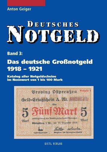 Deutsches Notgeld Band 3