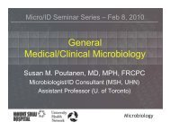 Introduction to the Clinical Microbiology Laboratory - Infectious ...