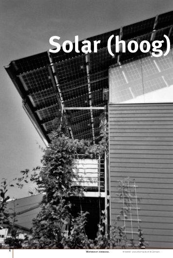 Solar (hoog) - De zonnearc