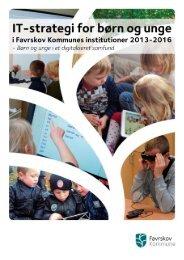It-strategi for børn og unge i Favrskov Kommunes Institutioner