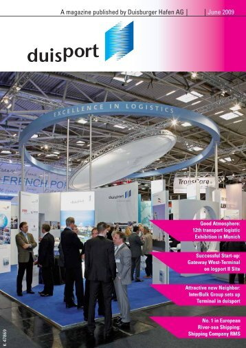 A magazine published by Duisburger Hafen AG June 2009 - Duisport
