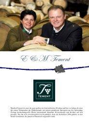 Weingut E & M Tement - winogrono.de