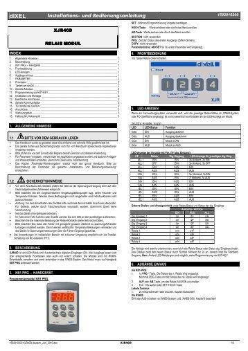 Installations- und Bedienungsanleitung für Funkempfänger