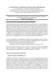 Dr Yves Dauvilliers, Neurologie B, Hôpital de Montpellier ... - SFRMS