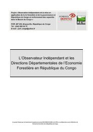 Présentation POIF DDEF - Observation Indépendante