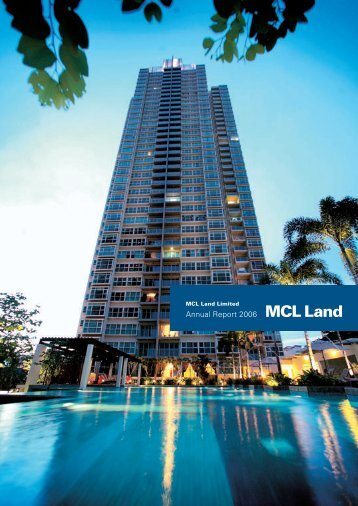 Annual Report 2006 - MCL Land