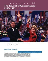 30 The Revival of Conservatism, 1980–1992 - WW-P High Schools