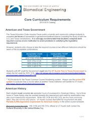 Core Requirements, 2012–2014