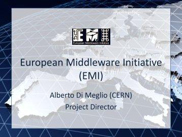 European Middleware Initiative (EMI) - Unicore