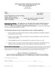 March 1 Deadline for all Applications - Charles County Public Schools