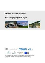 COMBRI-HANDBUCH BRÜCKEN - Lehrstuhl für Stahlbau der RWTH