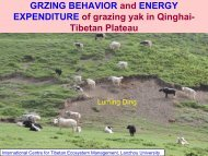 GRZING BEHAVIOR and ENERGY EXPENDITURE of ... - LiFLoD