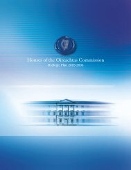 Houses of the Oireachtas Commission Strategic Plan 2005 - 2006