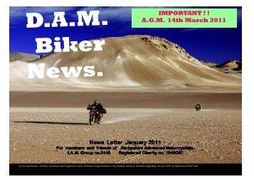 D.A.M. N.L. Jan2011.pub - Derbyshire Advanced Motorcyclists