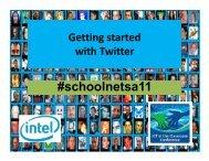 #schoolnetsa11 - SchoolNet South Africa