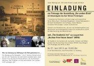 Zur Einladung (PDF) - Leopold Kohr Akademie