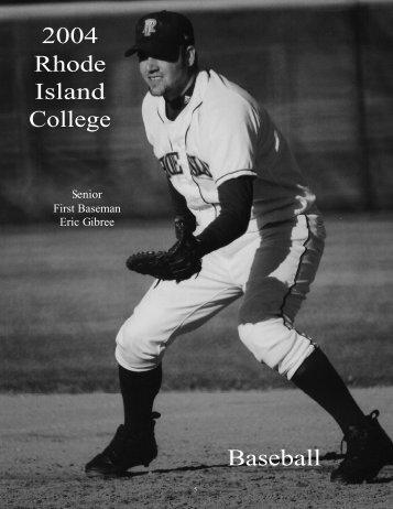 2004 Rhode Island College Baseball - Rhode Island College Athletics