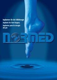 Implantate für die Fußchirurgie Implants for Foot ... - Stratmed.co.za