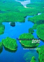 Toimintakertomus 2010 - Savonlinnan seutu