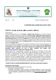 Cliccate QUI - Scuola Media Statale Dante Alighieri