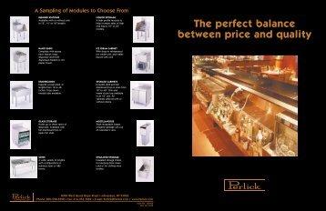 Underbar Stainless brochure - Lenox-Martell Inc