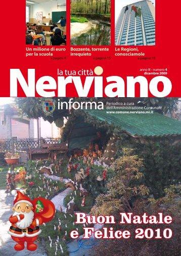Anno III - Numero 4 Dicembre 2009 - Comune di Nerviano
