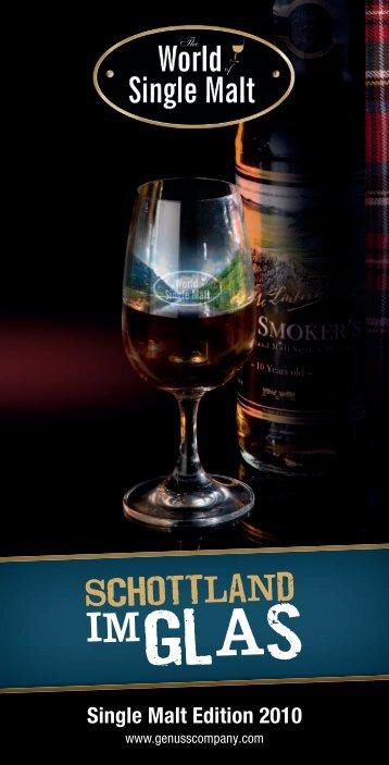 Single Malt Edition 2010 - Willkommen bei Whisky und Cigars